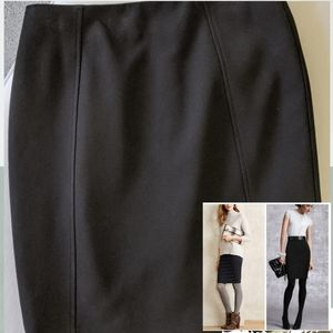 Halogen Black skirt NWOT